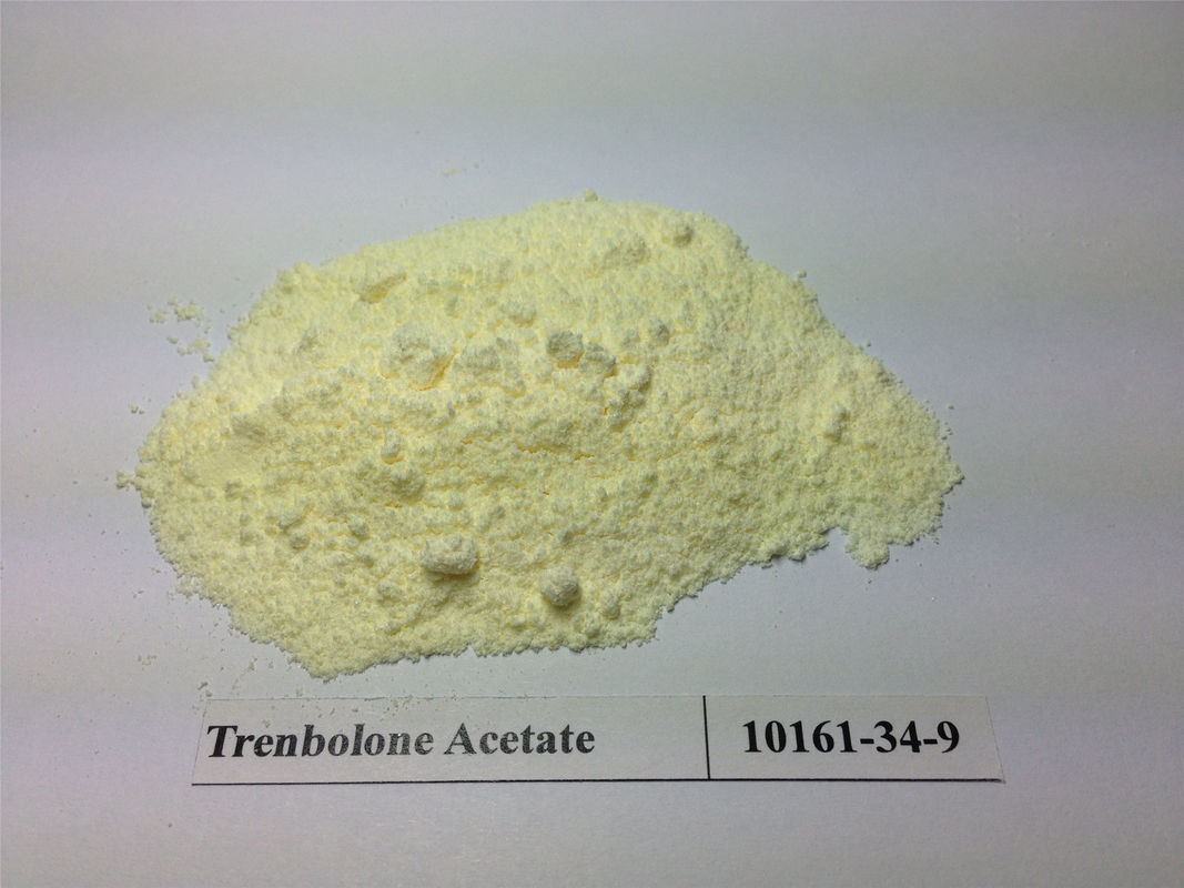 natural hgh Steroid Hormones Trenbolone Acetate injectable CAS 10161-34-9